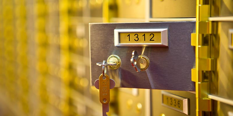Safety Deposit Boxes Leicester